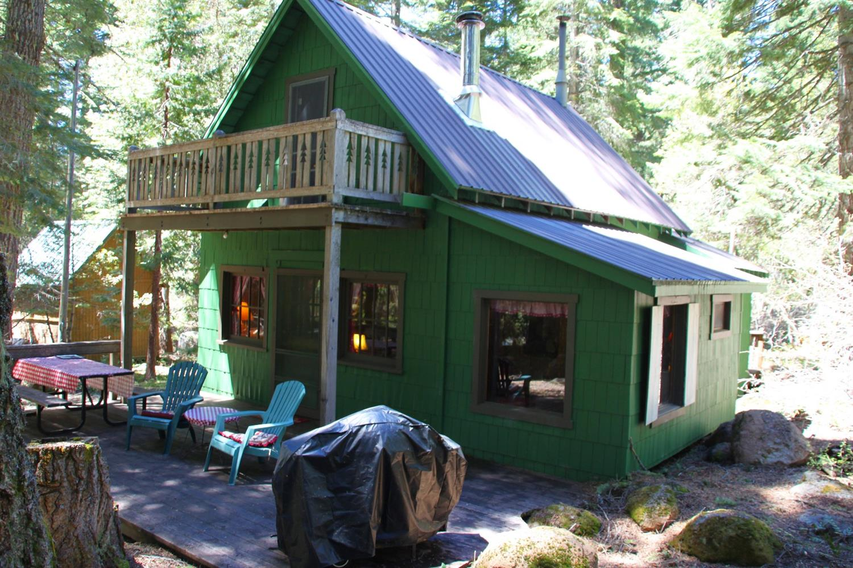 Fish lake cabin jackson county oregon for Fish lake cabin